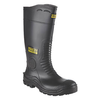 Image of Stanley FatMax Vancouver Safety Wellingtons Black Size 8