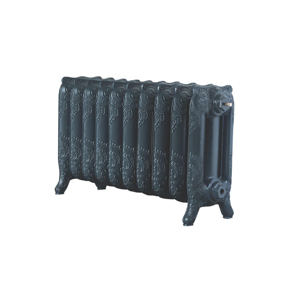 Image of Arroll Montmartre 3-Column Cast Iron Radiator Anthracite 470 x 834mm