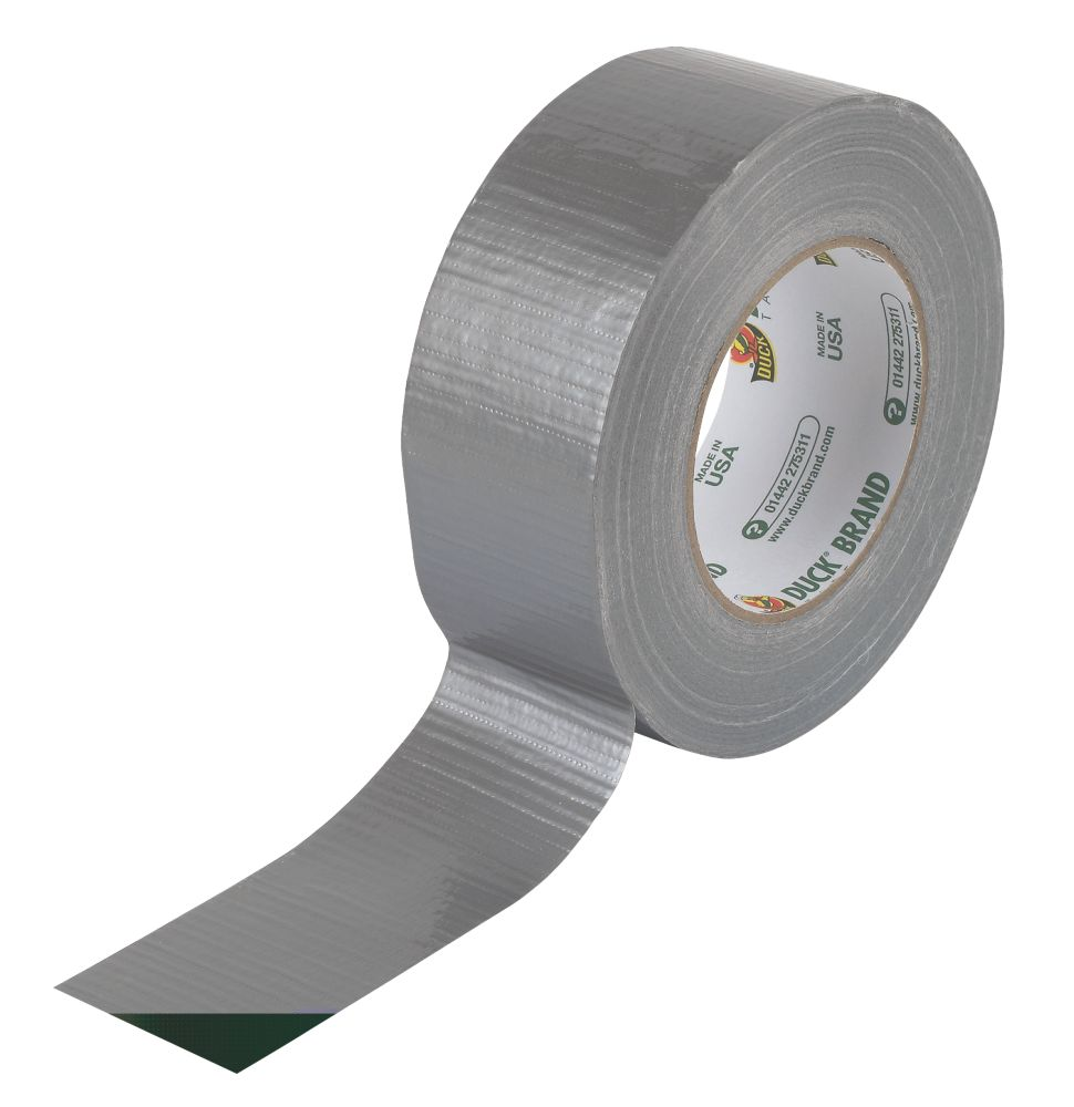 Image of Duck Original Cloth Tape 50 Mesh Silver 50mm x 50m