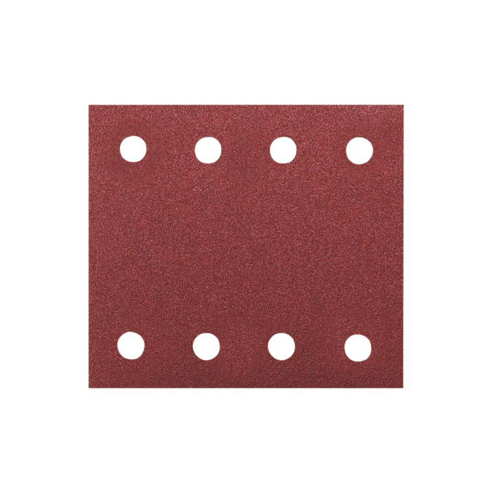 Image of Makita Sanding Sheets Punched 102 x 114mm 60 Grit 10 Pack