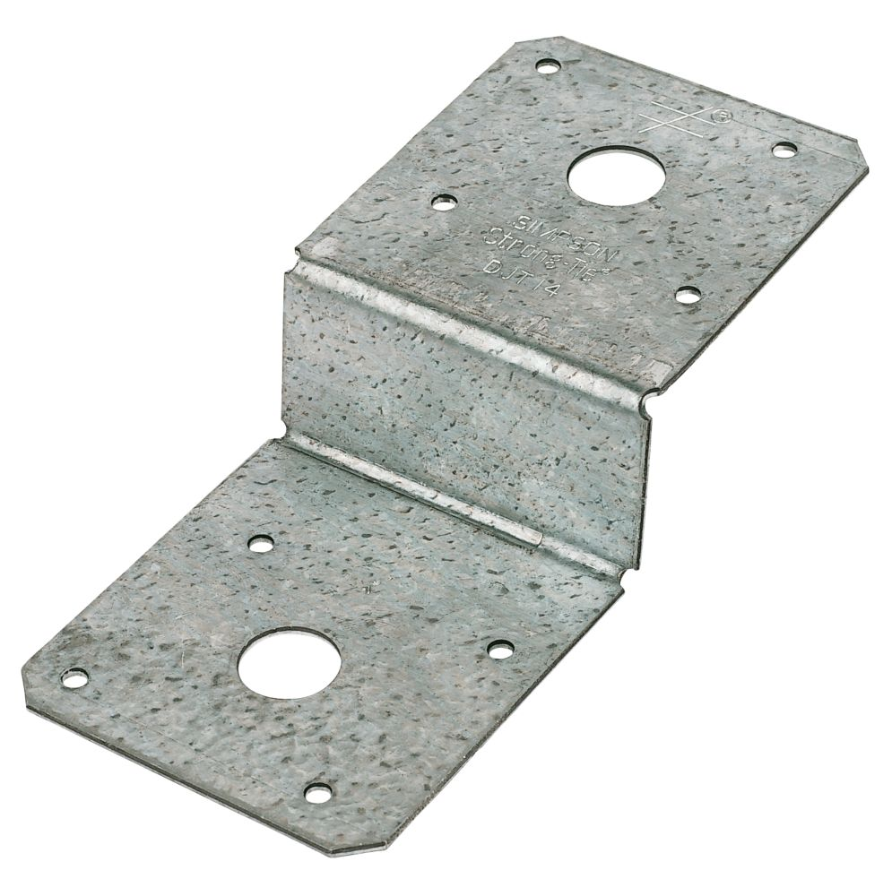 Image of Sabrefix Deck Joist Ties 170 x 38 x 75mm 4 Pack