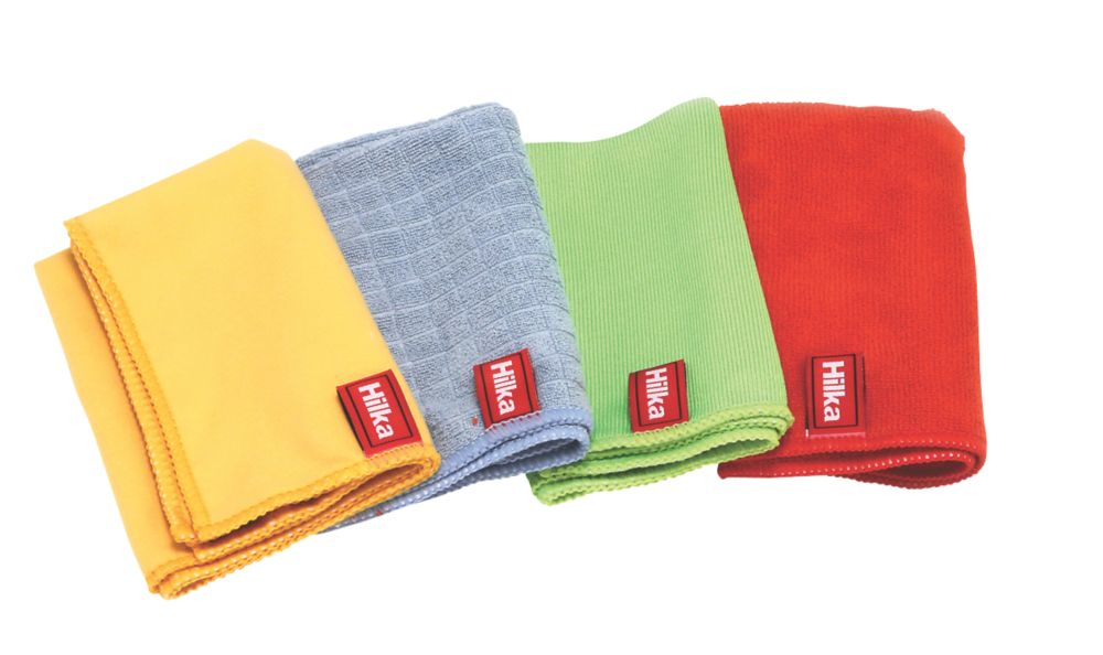 Image of Hilka Pro-Craft Polyester & Nylon Microfibre Cloth Set