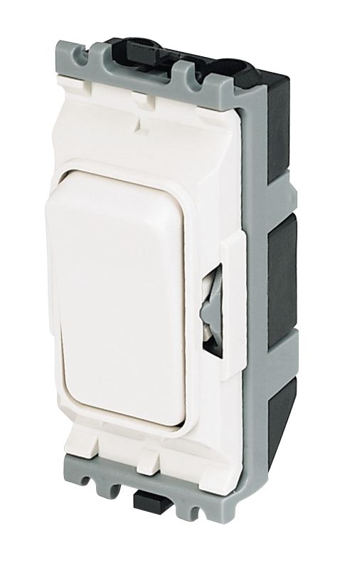 Image of MK 1-Way 20A SP Grid Switch White