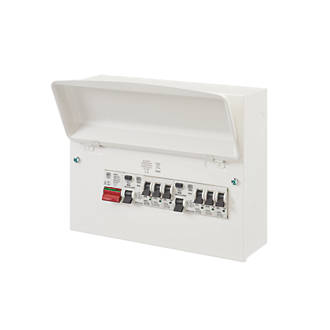 Image of MK Sentry 12-Module 6-Way Populated Dual RCD Consumer Unit