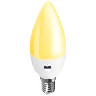 Image of Hive Active LED Candle SES Smart Bulb Warm White 5.3W 470Lm