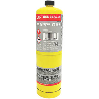 Rothenberger Disposable MAP Pro Gas Cylinder 400g