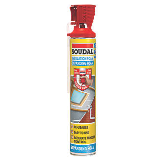 Image of Soudal Genius Insulation Foam Hand-Held 750ml