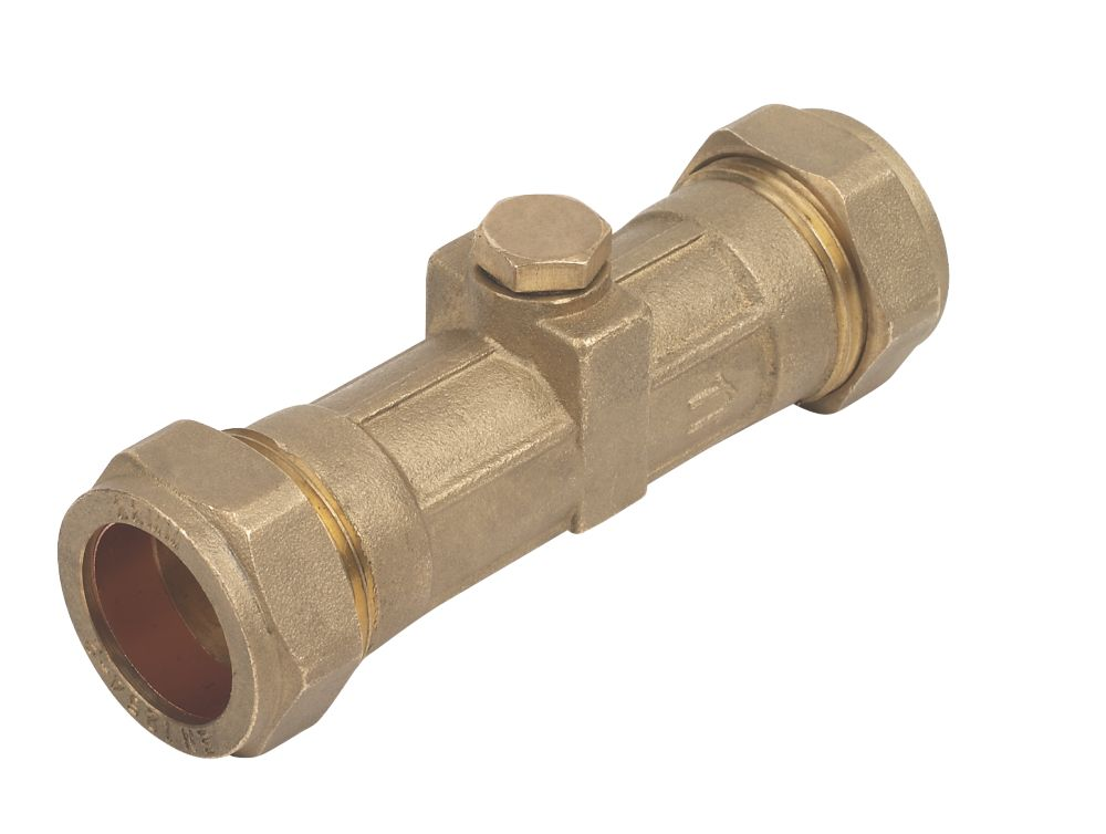 Image of Double Check Valve DZR 22mm