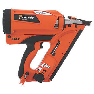 Image of Paslode IM350+ 90mm 7.4V 2.1Ah Li-Ion First Fix Cordless Gas Nail Gun