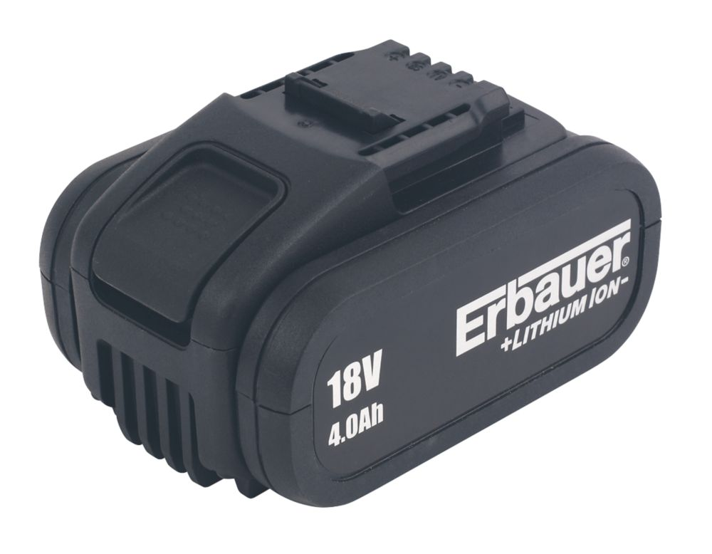 Image of Erbauer ERI660BAT 18V 4.0Ah Li-Ion Battery
