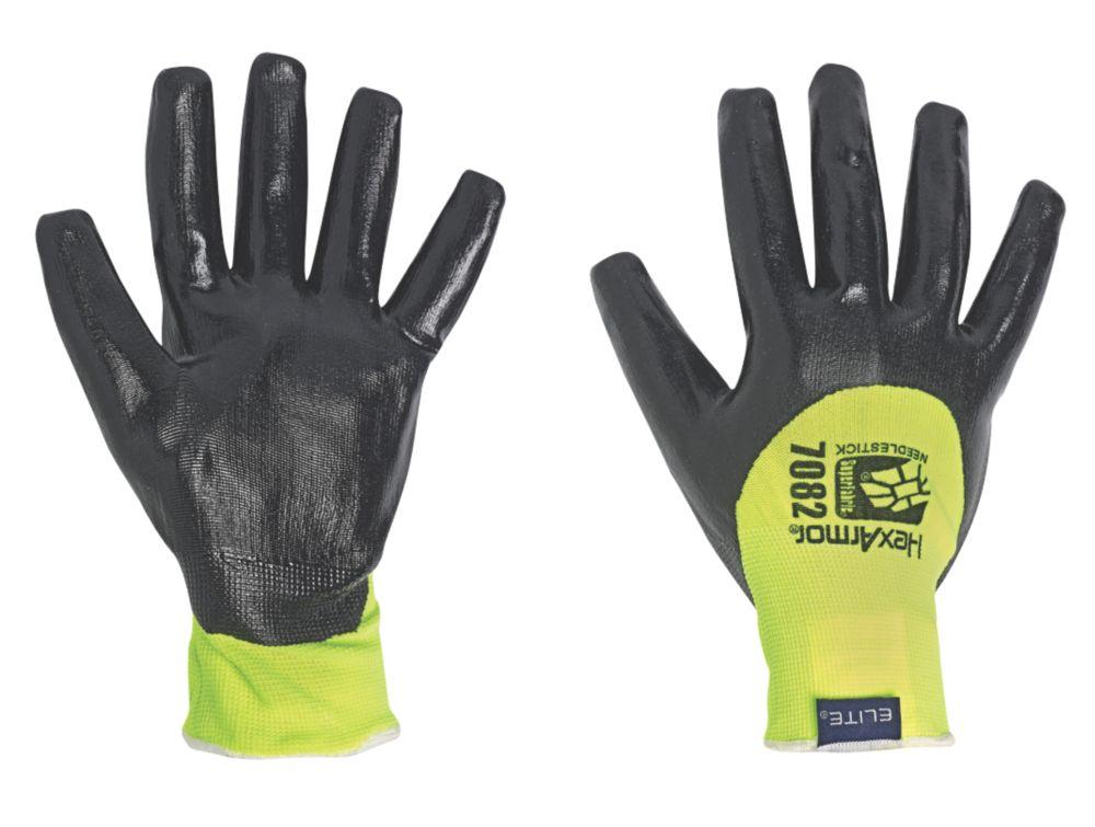 Image of Polyco Needlestick-Resistant Gloves Black L