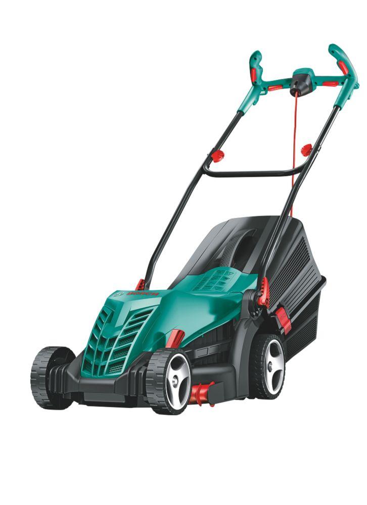 Image of Bosch Rotak 1400W 37cm Rotary Lawn Mower 230V