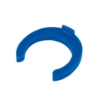 Image of FloFit Flo-Fit Collet Clips Blue 15mm 50 Pack