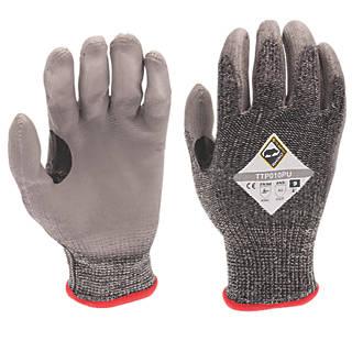 Image of Tilsatec 50-5111 Cut 5/E PU Gloves Grey / Black X Large