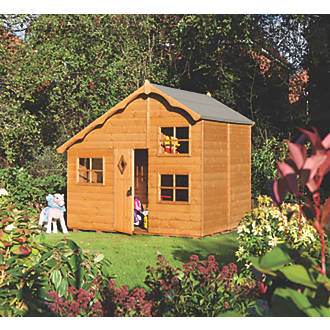 Image of Rowlinson Swiss Cottage Playhouse 8 x 7'