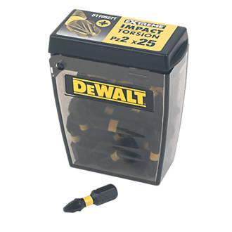 Image of DeWalt DT70527T-QZ Extreme Impact Torsion Bit Box PZ#2 x 25mm Pack of 25