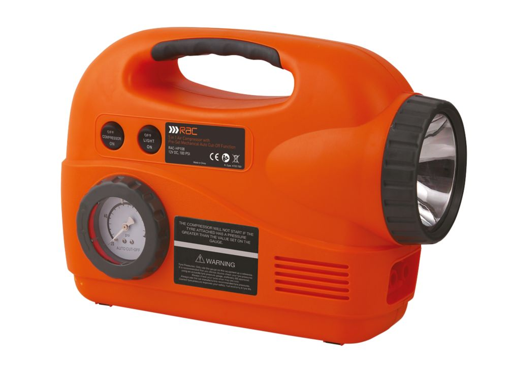 Image of RAC 5-in-1 Air Compressor 12V