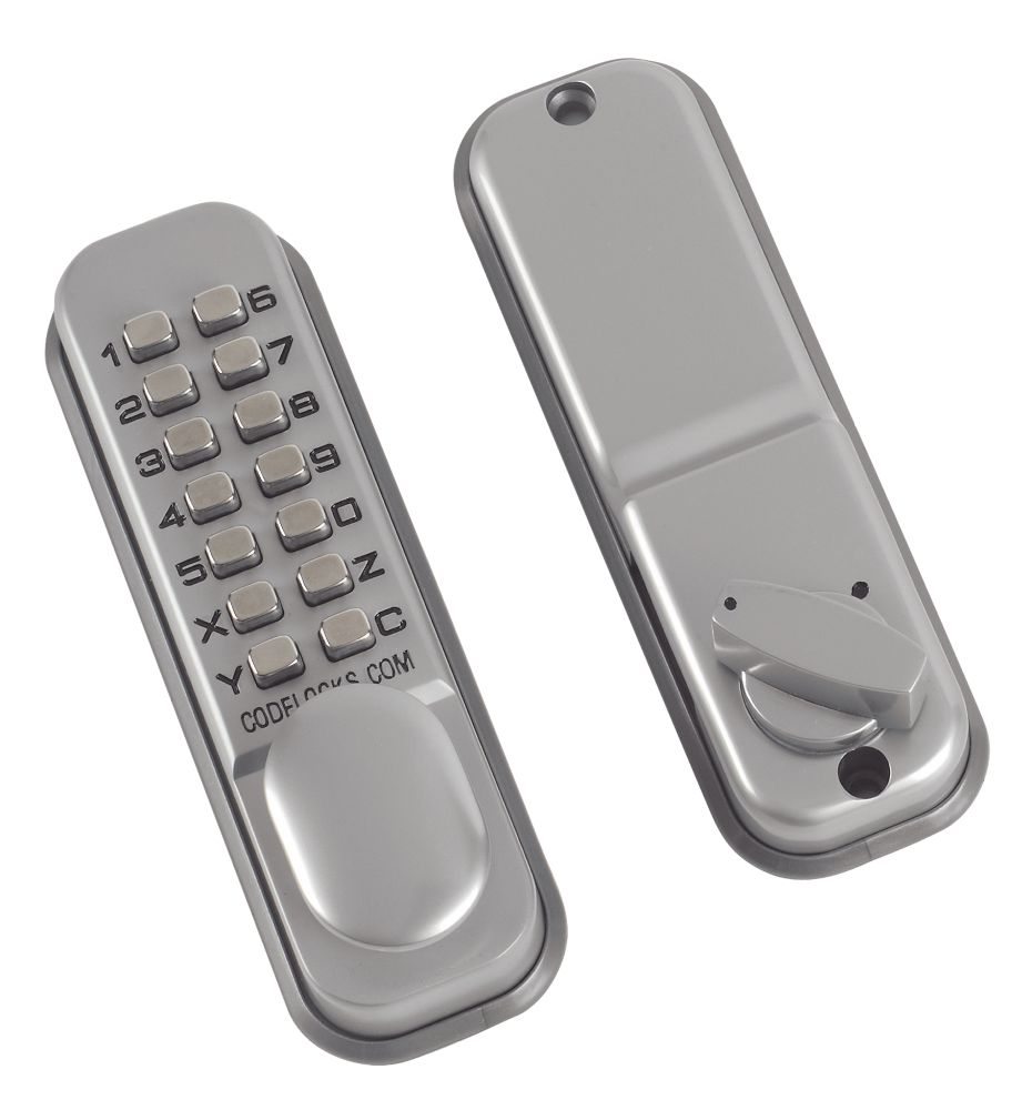 Image of Codelocks Mechanical Medium Duty Push Button Lock Surface Deadbolt