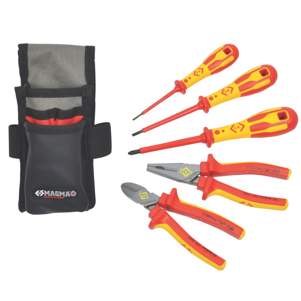 Image of C.K. Electricians Core Tool Kit 5 Piece Set