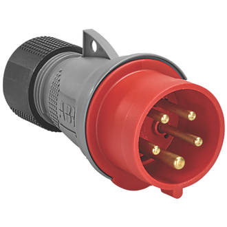 Image of ABB 16A Straight Plug 4P+E 380-415V