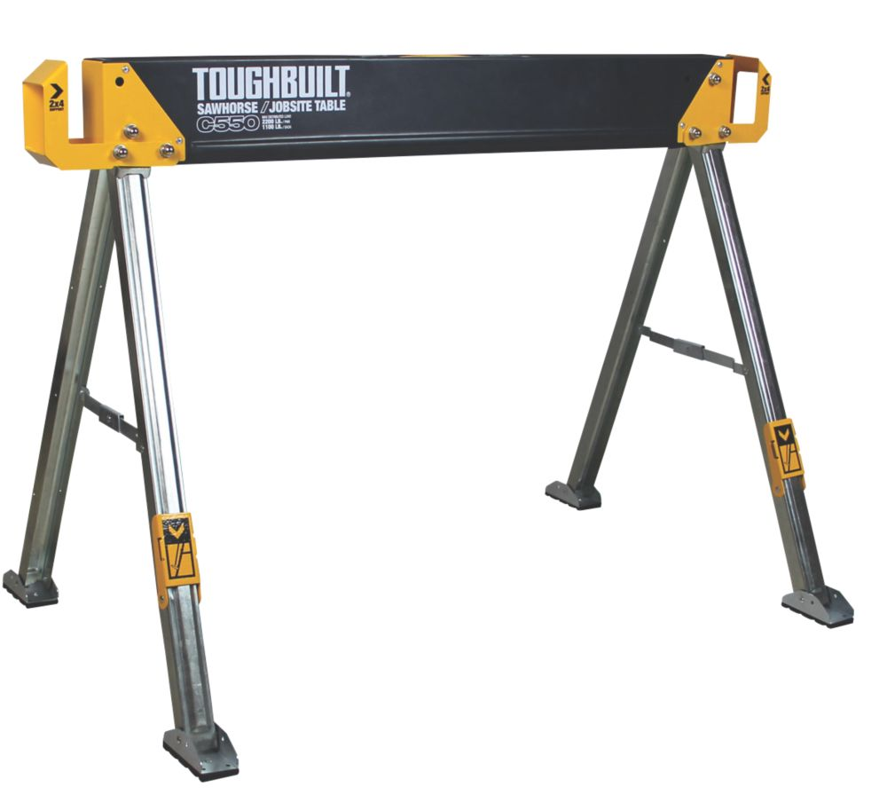 Image of Toughbuilt T/BC550 All-Metal Saw Horse