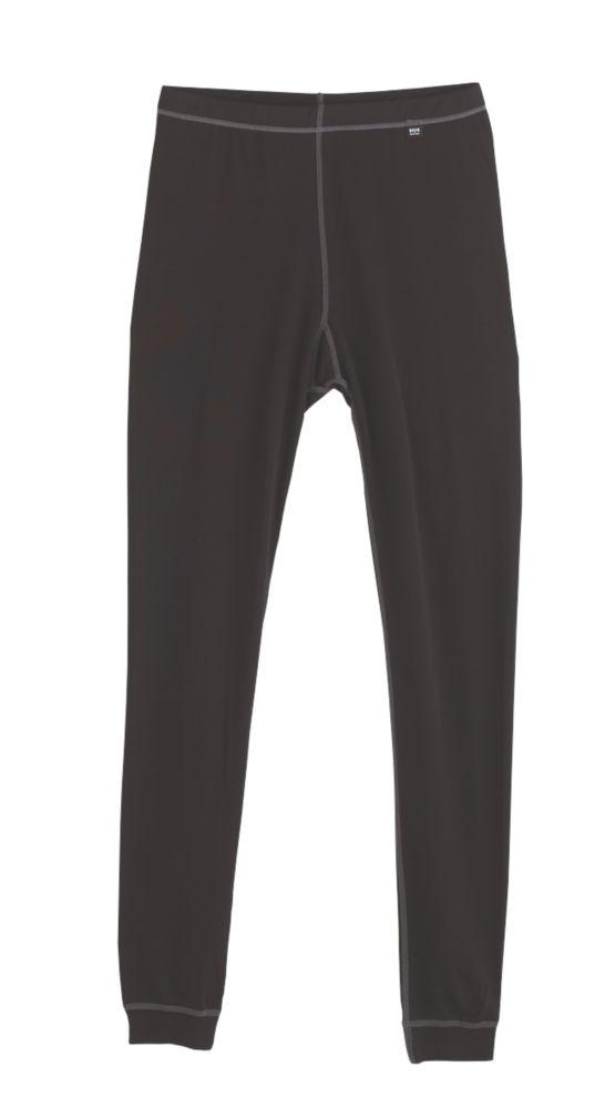 "Image of Helly Hansen Kastrup Baselayer Trousers Black Medium 33-34 "" W 32"" L"