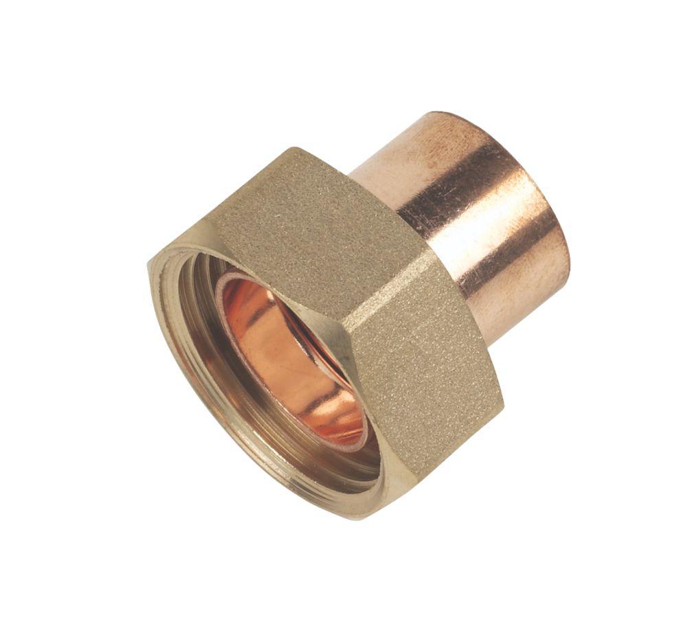 """Image of Flomasta Cylinder Union 22mm x 1"""""""