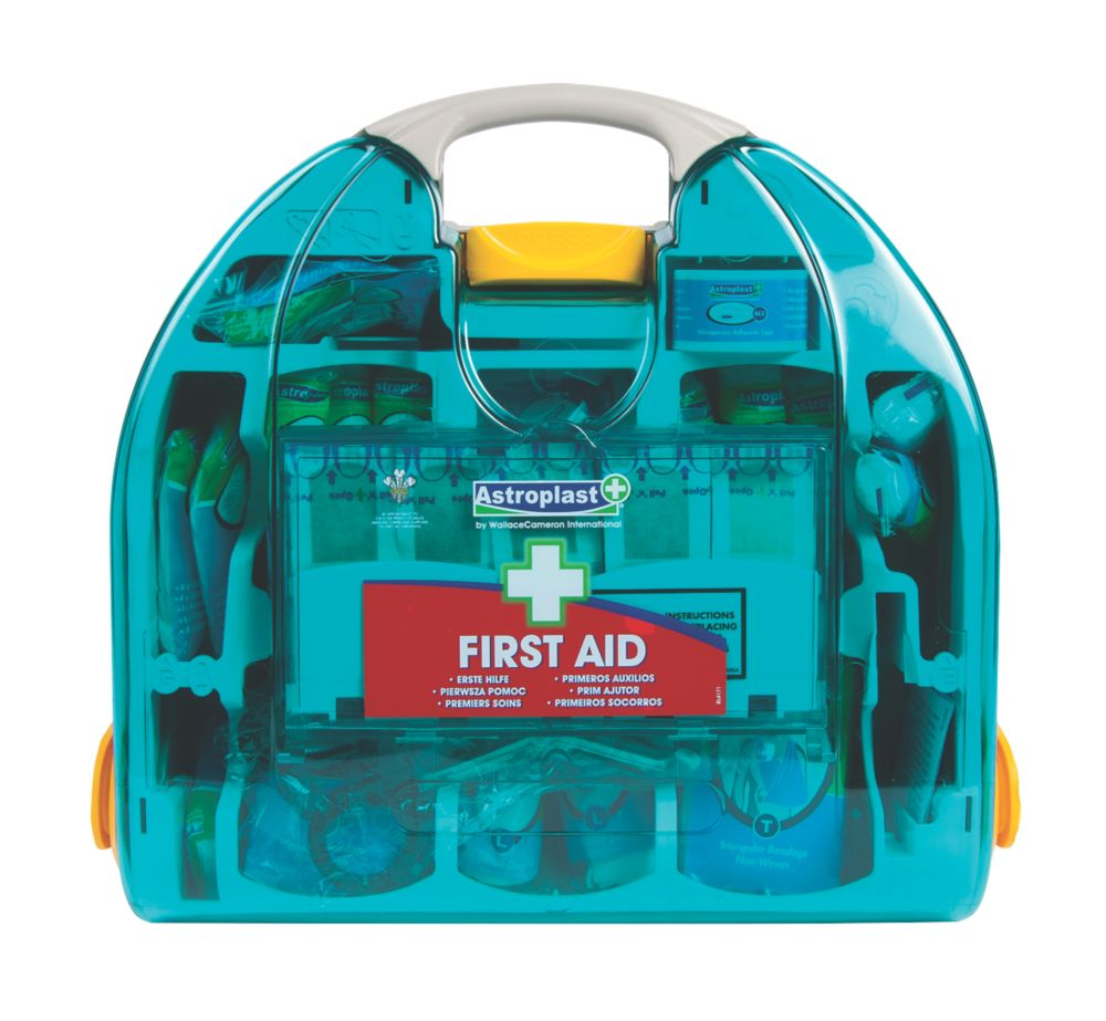 Image of Wallace Cameron 1002109 Adulto 20 Person HSE First Aid Kit