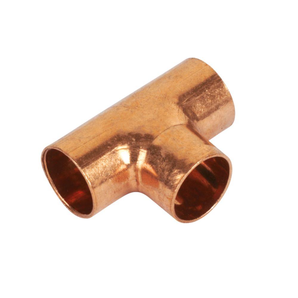 Image of Endex N24 Equal Tees 15 x 15 x 15mm 10 Pack