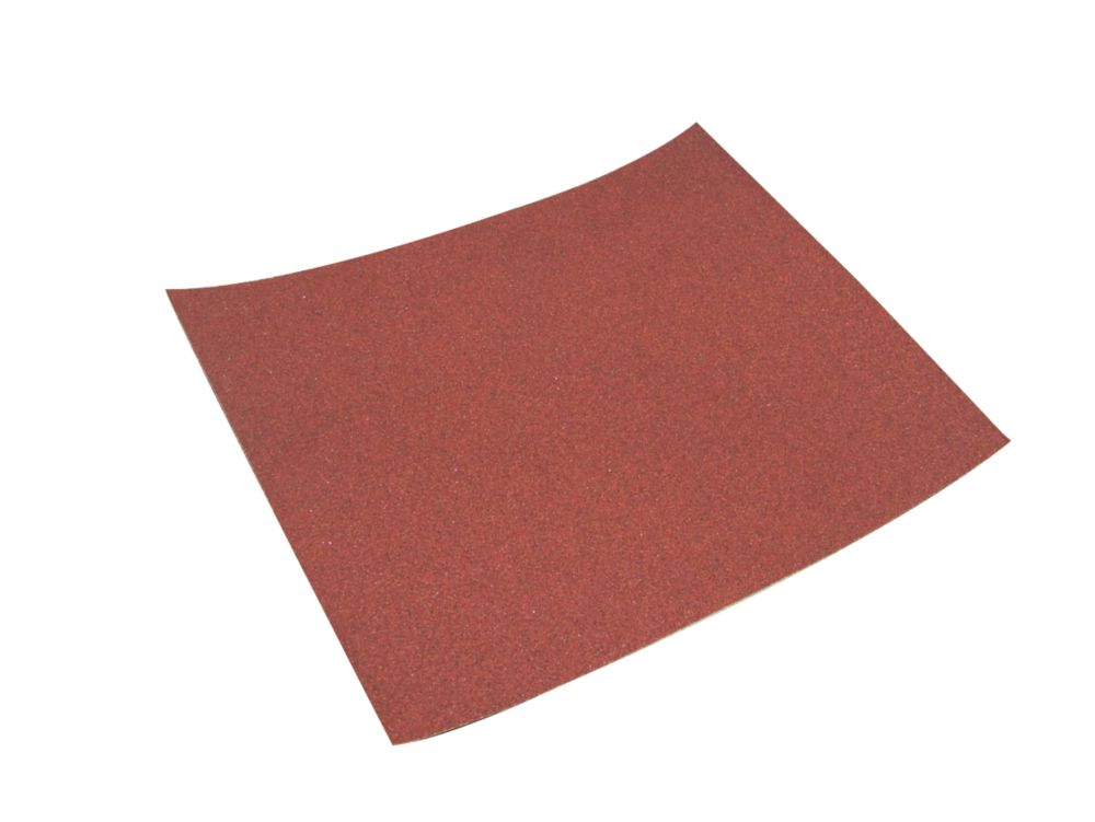 Image of Titan Sanding Sheets Unpunched 230 x 280mm 120 Grit 10 Pack