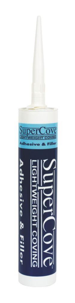 Image of Supercove Supercove Coving Adhesive White 310ml
