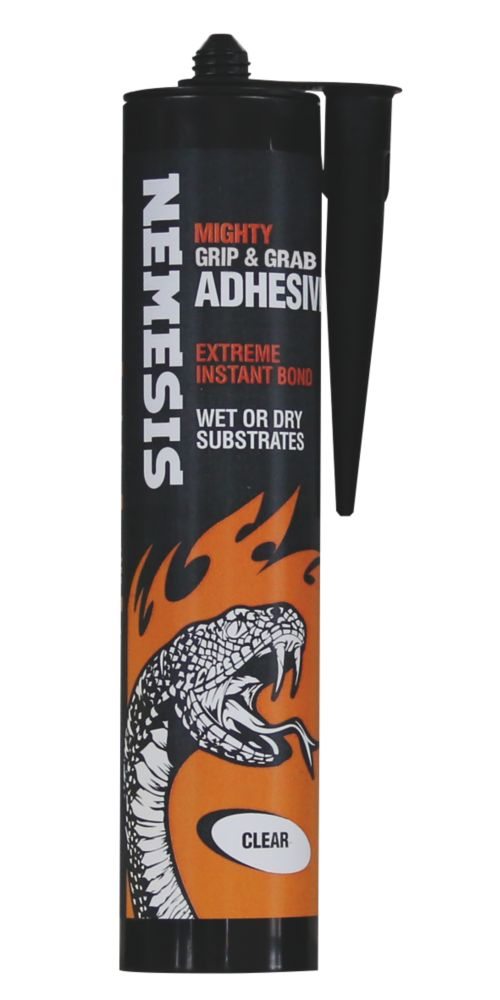 Image of Nemesis Mighty Grip & Grab Adhesive Clear 290ml