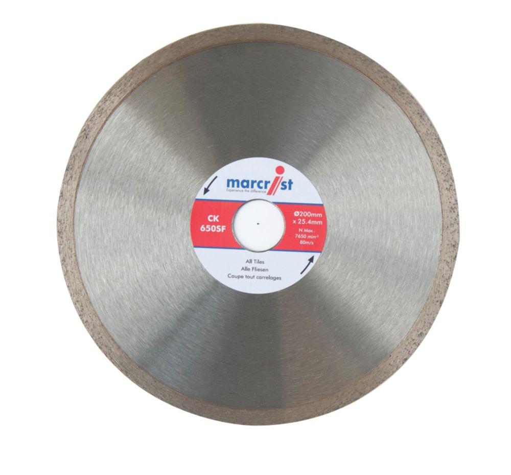 Image of Marcrist CK650SF Diamond Tile Blade 200 x 25.4mm