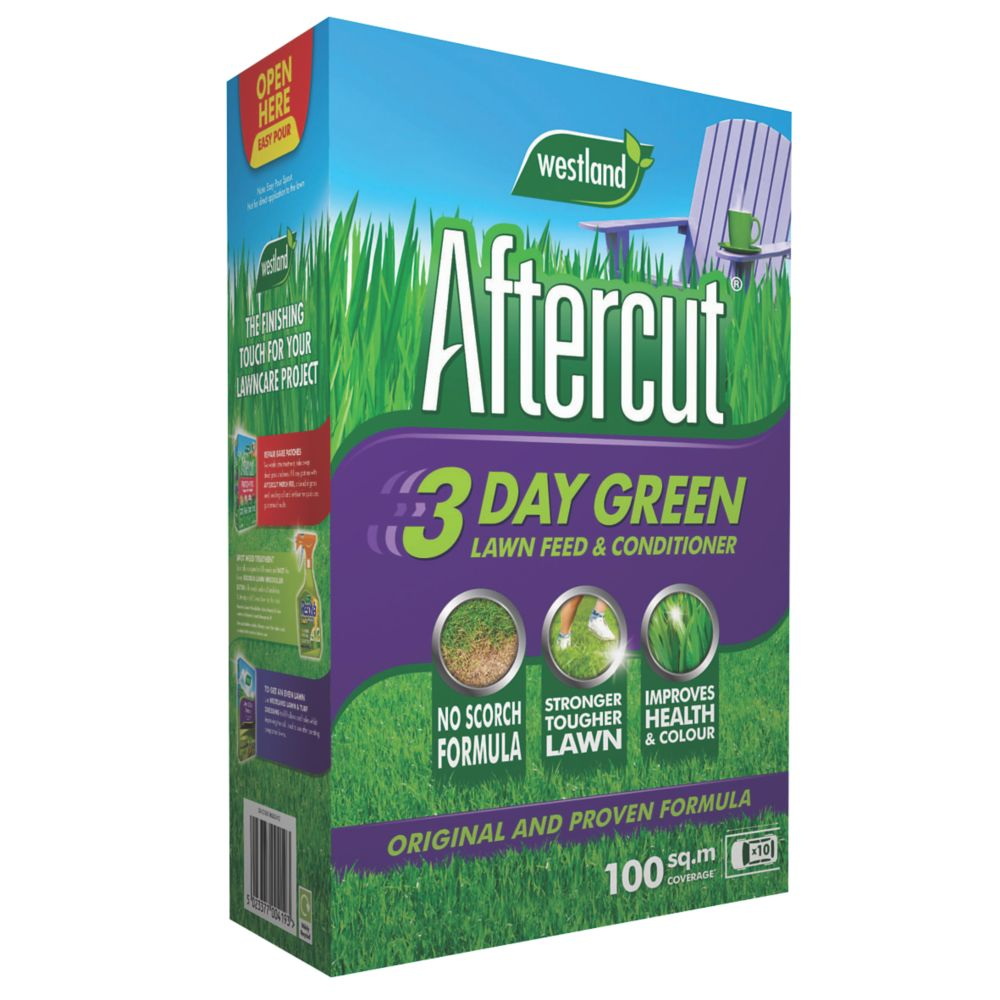 Image of Aftercut 3-Day Green Lawn Feed & Conditioner 100m² 3.5kg