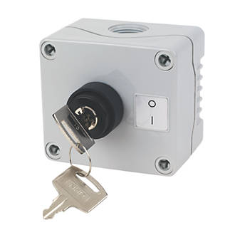 Image of Hylec 1DE.01.09AG-SF Selector Key Switch