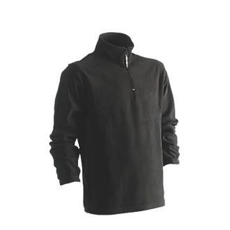 """Image of Herock Antalis Fleece Sweatshirt Black X Large 50"""" Chest"""