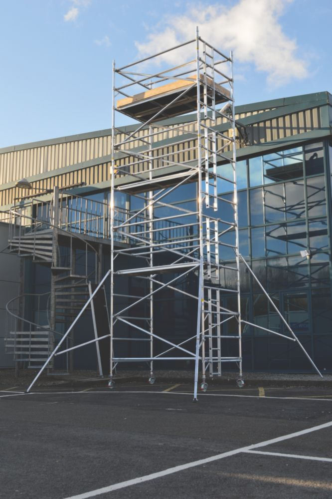 Image of Lyte SF25DW67 Helix Double Width Industrial Tower 6.7m