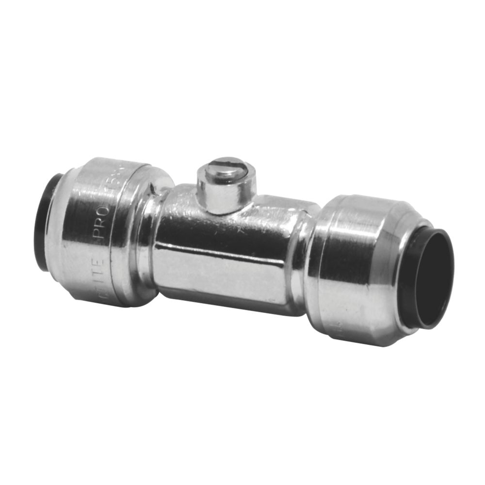 Image of Tectite Sprint Push-Fit Isolating Valve 15mm