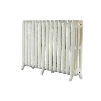 Image of Arroll 3-Column Cast Iron Radiator 760 x 1154mm Cream