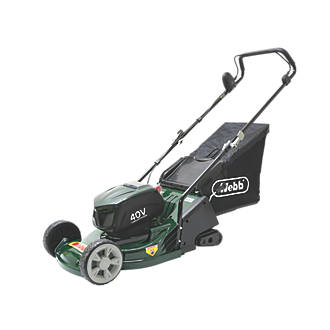Image of Webb 40V 4.0Ah Li-Ion Brushless Cordless 43cm Rotary Lawn Mower