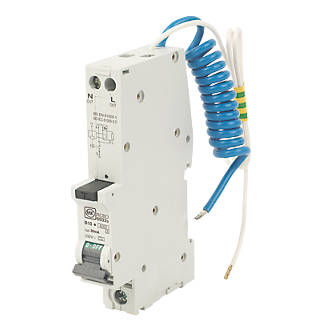 Image of MK Sentry 10A 30mA SP Type B RCBO