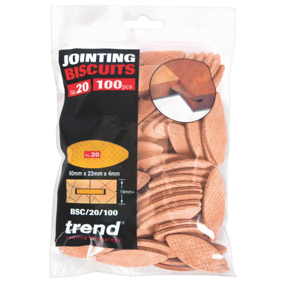 Image of Trend No. 20 Jointing Biscuits Pack of 100 100 Pack