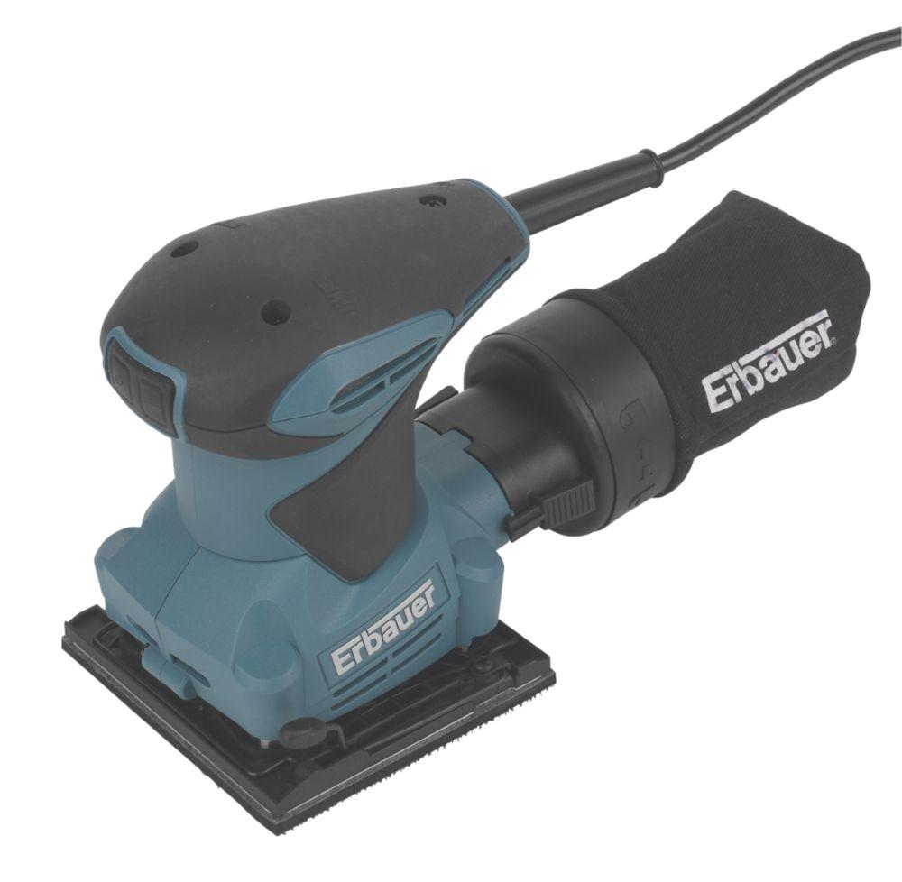 Image of Erbauer ERB404SDR Compact Sheet Palm Sander 230-240V
