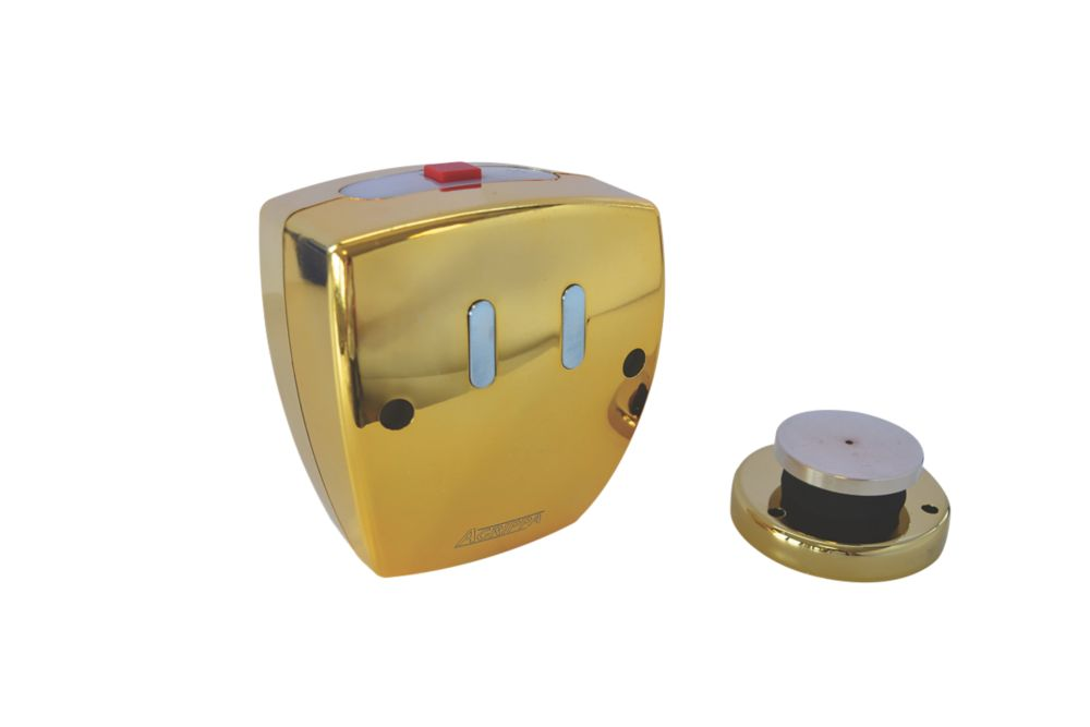 Image of Agrippa Wireless Acoustic Fire Door Holder Brass