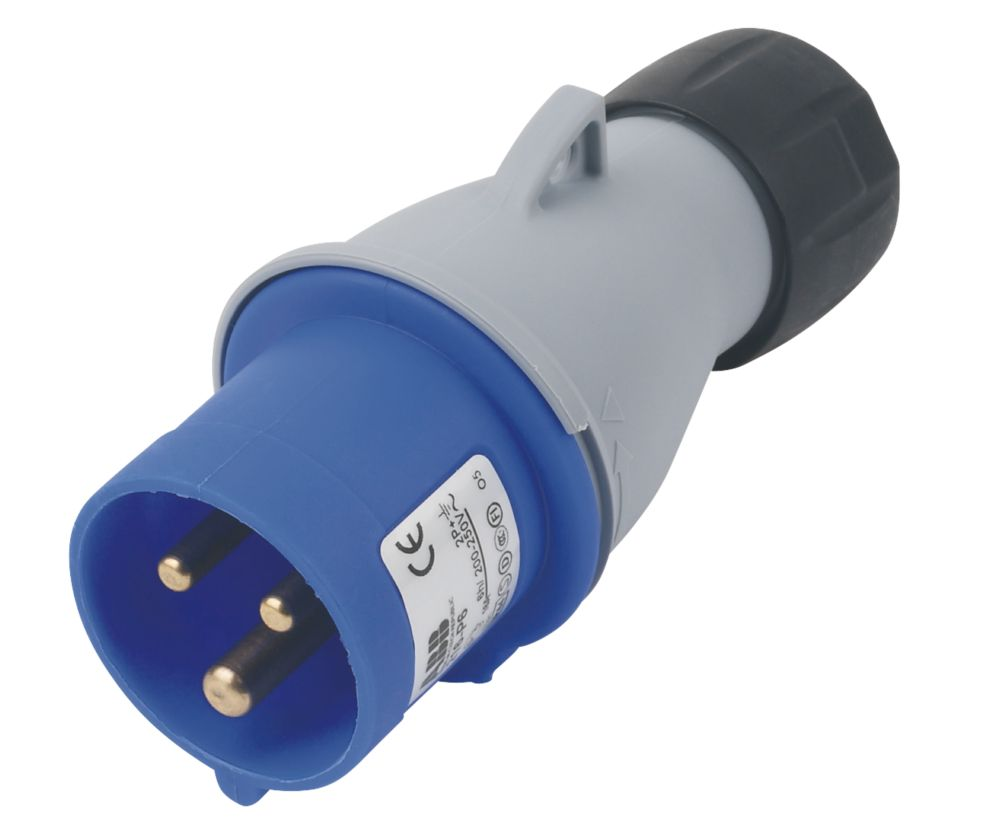 Image of ABB Straight Plug 16A 2P+E 250V 6H IP44