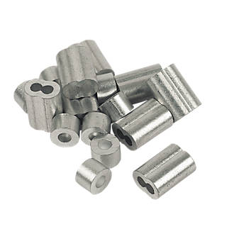 Image of Hardware Solutions Wire Rope Accessories Grey 4mm x 8 Pack