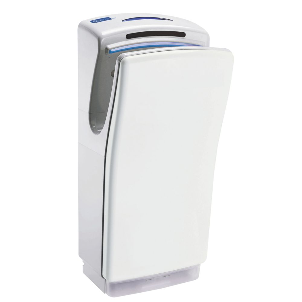 Image of Biodrier Business Ultra Fast Blade Hand Dryer White 0.7-1.4kW