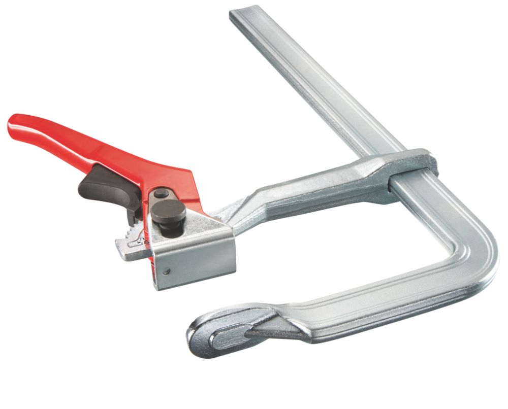 Image of Bessey GH20 All-Steel Lever Clamp 200mm