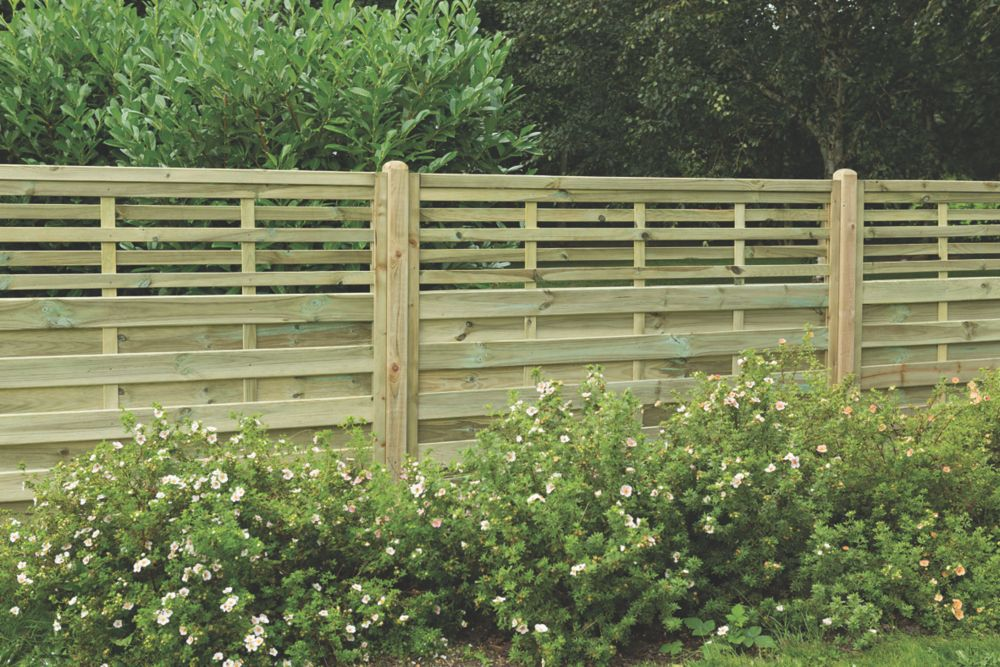 Image of Forest Kyoto Fence Panels 1.8 x 1.2m 10 Pack