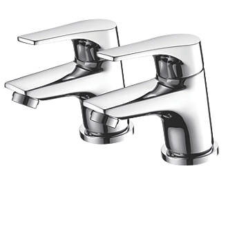 Image of Bristan Easyfit Vantage Bath Taps Pair